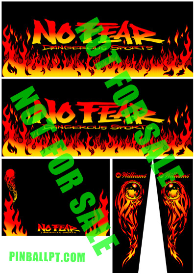 no fear cabinet decals pinballpt1